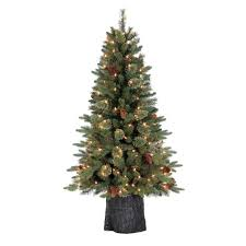 7ft artificial tree sale led lights white