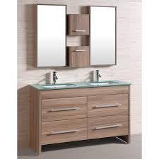 trendy ideas 54 bathroom vanity sink inch black modern with
