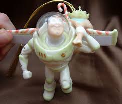 lenox story buzz lightyear merry hanging ornament disney