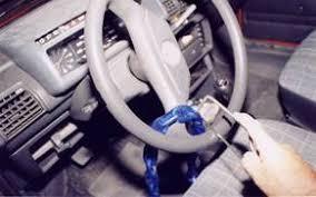 blocco volante auto gli antifurto per autovetture