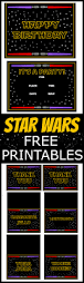 star wars birthday greetings 67 best star wars birthday printables images on pinterest star
