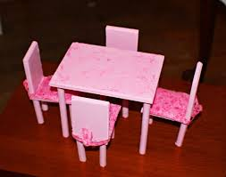 barbie dining room set diy barbie dining room table chairs this was a first try i