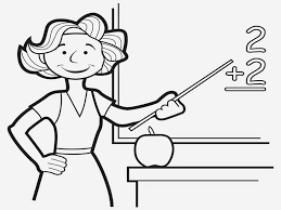 teacher coloring pages 2 arterey info