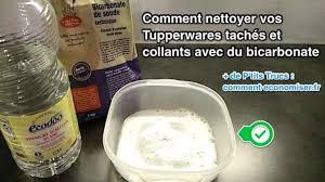 cuisine bicarbonate de soude comment nettoyer vos tupperwares tachés et collants avec du bicarbonate