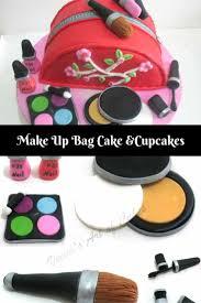 makeup cake toppers make up bag cake veena azmanov