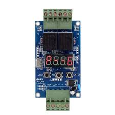 12v dual programmable relay delay timer module 2 voltage detection