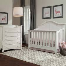 Convertible Crib And Dresser Set Baby Nursery Chic Nautical Baby Room Decoration Using White Crib