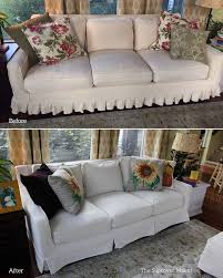 Thomasville Reclining Sofa by New Slipcovers For Thomasville Furniture The Slipcover Maker