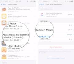 how to switch between apple music individual and family plans imore