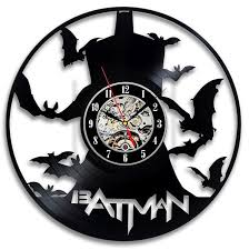 theme clock cool batman theme cd vinyl decorative modern wall clock atlys