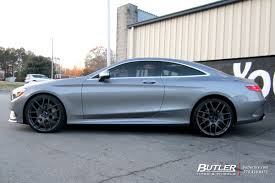 mercedes s class wheels mercedes s class coupe with 22in tsw nurburgring wheels