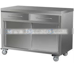 Upright Storage Cabinet Stainless Steel Kitchen Storage Cabinets