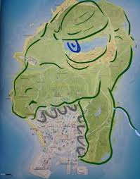 Gta 5 Map The Internet Reacts To Grand Theft Auto V U0027s Map And Its Size
