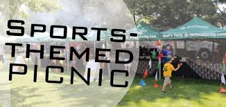 picnic themes sports themed picnic tasty catering chicago