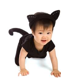 pagegozt black white cat costume child