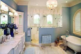 Small Crystal Chandelier For Bathroom Bathrooms U0026 Showers Devonshire Custom Homes