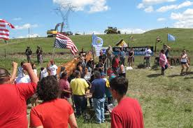 Standing Rock Reservation Map North Dakota Protesters Vow To Stop Oil Pipeline From Traversing