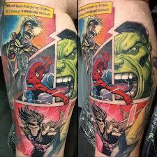 superhero tattoos album on imgur