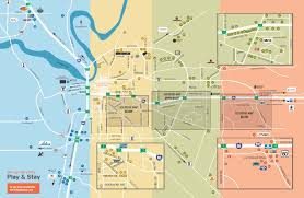 Map Of Al Directions Montgomery Convention And Visitors Bureau
