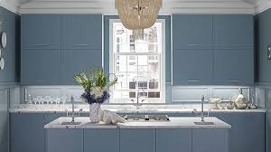 electric blue kitchen cabinets blue kitchens we home decor colors home