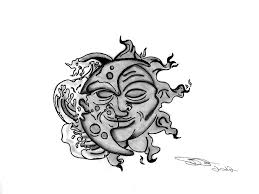 the moon and the sun drawing unleashed2594 2018 mar 6 2012