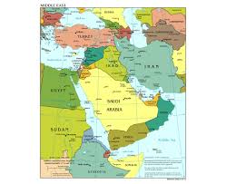 Africa And Asia Political Map by Maps Of The Middle East Middle East Maps Collection Of