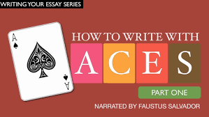 how to write strategy paper how to write paragraphs with ace part 1 youtube