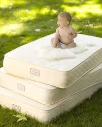 Organic Mini Crib Mattress Baby Cribs Luxury Flannel Nature Bumpers Cotton Tale Nursery