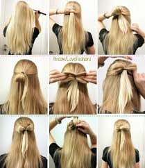 bow hair diy bow hair style pictures photos and images for
