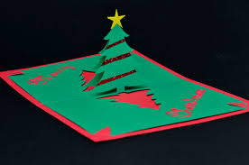 pop up christmas cards easy christmas tree pop up card template creative pop up cards