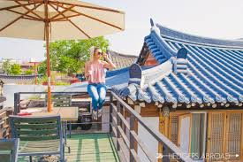 the rooftop jeonju hanok guesthouse hedgers abroad