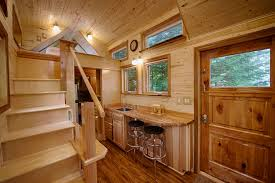 a tiny house with a sauna hope island cottages