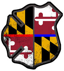 Maryland Flag Vinyl Maryland Fire U0026 Police Decal U2013 American Responder Designs