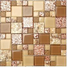 kitchen wallpaper backsplash new free shipping glass mixed 3d mosaic tile wallpaper