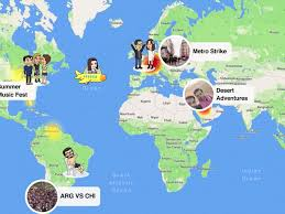 United States Map With Oceans by Why Snap Map Snapchat U0027s New Feature Is Going To Be Big