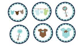 baby shower teddy bear printables buscar con google cupcakes