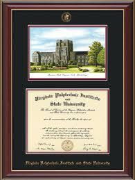 tech diploma frame vt diploma frame mahogany braid w vt war memorial black on maroon