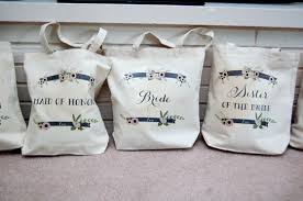 bridal party tote bags diy bridesmaids tote bags happy applehappy apple