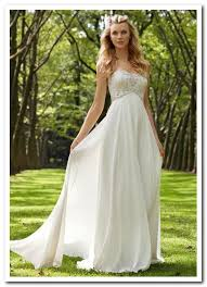 outdoor wedding dresses wedding dress ideas for casual outdoor wedding