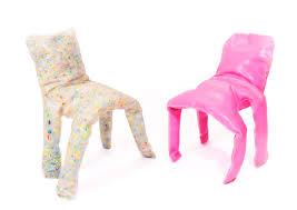 Recycled Plastic Furniture Jamie Wolfond U0027s Recycled Plastic Frumpy Chair Takes On A Familiar