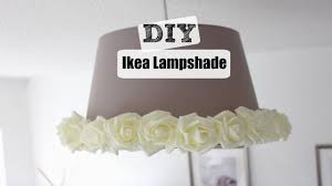 diy how to revamp an ikea lampshade youtube