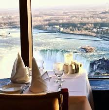 Skylon Tower Revolving Dining Room Skylon Tower Niagara Falls On Wedding Venue