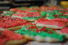 frosting christmas cookies christmas lights decoration