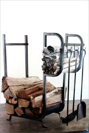 fireplace wood holder binhminh decoration