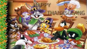 disney thanksgiving bugs bunny taz tweety sylvester