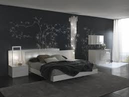 décoration chambre à coucher moderne chambre à coucher chambre coucher moderne mur gris déco florale