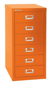 Silverline Filing Cabinet 6 Drawer Metal A5 Locking Silverline Range Office Filing Cabinet