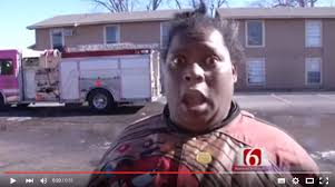 Black Lady Meme - viral video â we ain t gonna be in no fire not today â â cbs st