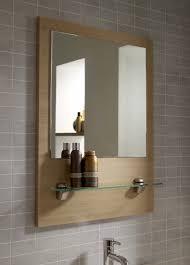 bathroom luxury framed bathroom vanity mirrors with shelves on