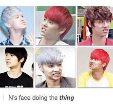Stank Face Meme - i love this face so much lol vixx face and kpop